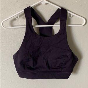 Lululemon purple sports bra size 8